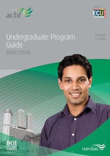 Undergraduate Program Guide - Navitas