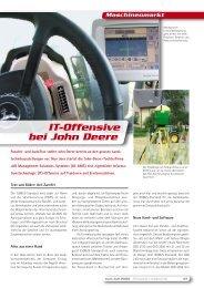 Maschinenmarkt IT-Offensive bei John Deere - Matra