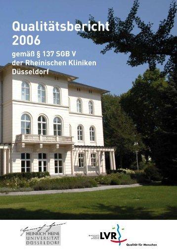 2006 - Landschaftsverband Rheinland - Qualität für Menschen