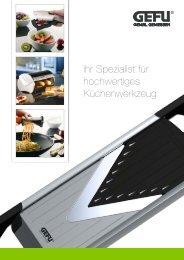 Ihr Spezialist für hochwertiges Küchenwerkzeug - Maukner