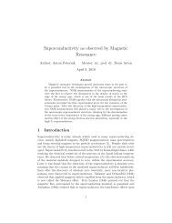 Superconductivity as observed by Magnetic Resonance - F9 - IJS