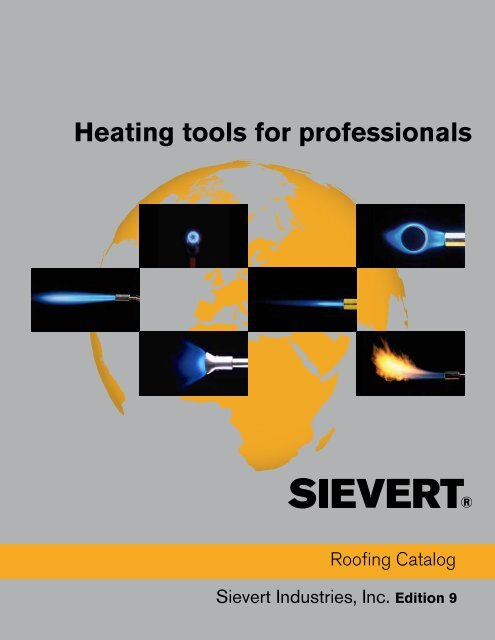 Heating tools for professionals - Sievert AB