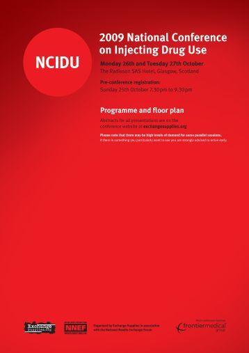 NCIDU 09 programme v9 - Exchange Supplies