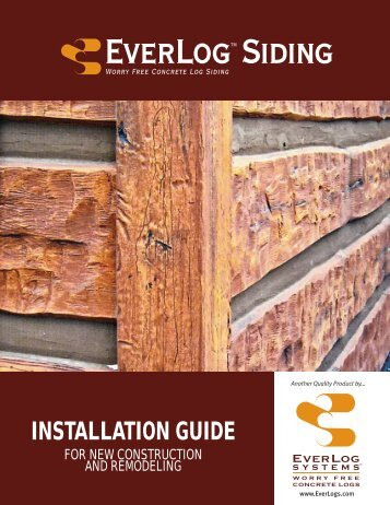 INSTALLATION GUIDE - EverLog™ Systems