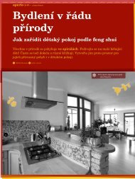 Bydlení v řádu přírody - jak zařídit dětský pokoj podle feng shui