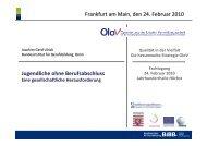 Präsentation zum Vortrag - OloV