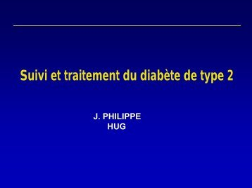Suivi et traitement du diabète de type 2