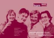 Lebensbegleitendes Lernen neue Wege mit Frauen - EcoNet-Austria