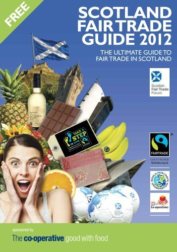 SCOTLAND FAIR TRADE GUIDE 2012 - University of St Andrews