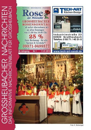 Großheubacher Nachrichten Ausgabe 01-2013 - STOPTEG Print ...
