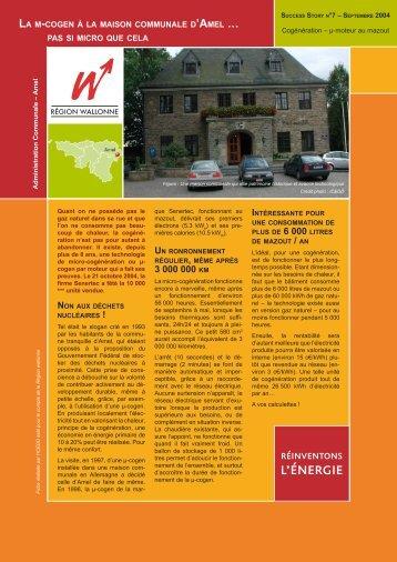 Administration Communale - Energie Wallonie