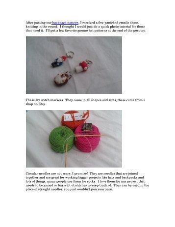 Knitting in the Round pdf - Waldorf Essentials