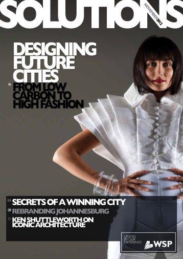 designing future cities - WSP Group