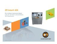 ZPrinter® 450 - Z Corporation