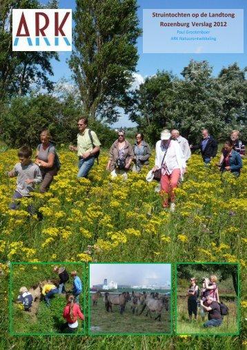 Verslag voorlichting 2012 - ARK Natuurontwikkeling