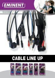 CABLE LINE UP - Eminent