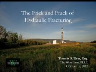 The Frick and Frack of Hydraulic Fracturing - Archive - ULI