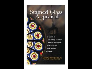 Stained GlassAppraisal Guide - Conrad Schmitt Studios