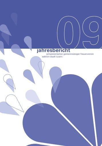Jahresbericht 2009 in PDF-Format - Schweizerischer ...