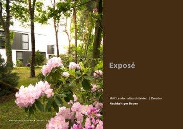 Exposé - MAY LANDSCHAFTSARCHITEKTEN