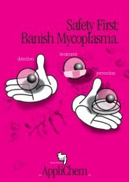Safety First: Banish Mycoplasma.