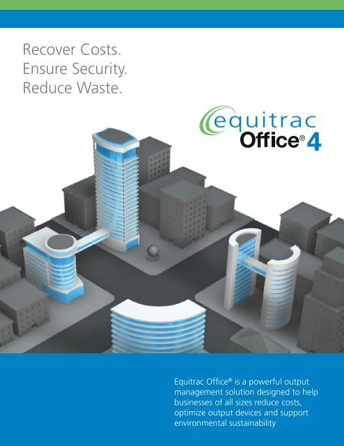 Equitrac Office Datasheet - ProcessFlows