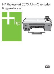 HP Photosmart 2570 All-in-One series - Hewlett Packard