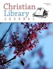 Download It - Christian Library Journal