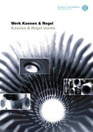 Werk Koenen & Regel Koenen & Regel works - SCHMOLZ ...