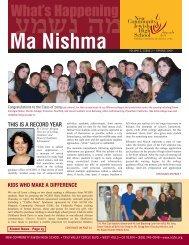 09 Newsletter (part 1) - New Community Jewish High School