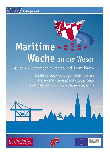 Maritime Woche an der Weser 2009