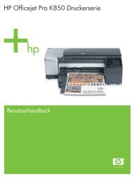 HP Officejet Pro K850 Druckerserie - Hewlett  Packard