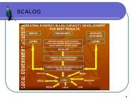 What is SCALOG - LGRC DILG 10
