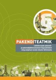 PAKENDITEATMIK - Keskkonnaministeerium