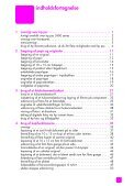 vedligeholdelse af hp psc - Hewlett Packard - Page 5