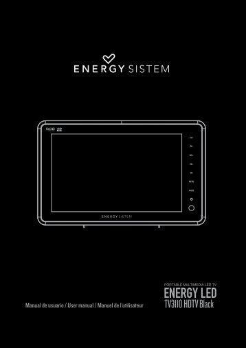 TV3110 HDTV_ing.indd - Energy Sistem