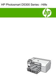HP Photosmart D5300 series - Hewlett Packard