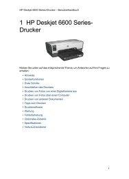 1 HP Deskjet 6600 Series- Drucker - Hewlett Packard