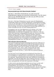 Neuzuwanderung wird überschaubar bleiben - Klaus J. Bade