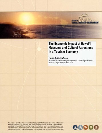 The Economic Impact of Hawai'i Museums and Cultural Attractions ...