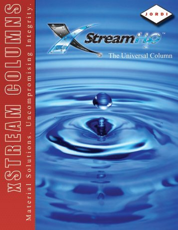 xStream H2O GPC column brochure - Hplc.eu