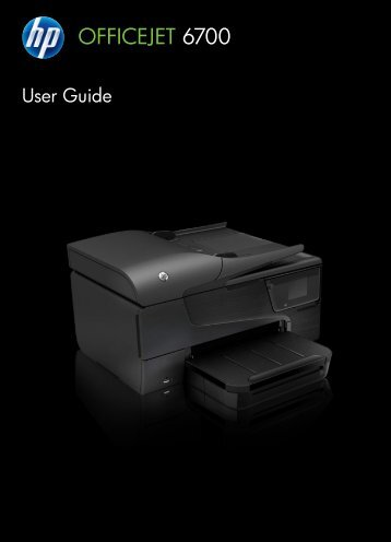 HP Officejet 6700 e-All-in-One User Guide – ENWW - Etilize