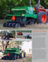 Mounted Versatility - Great Plains