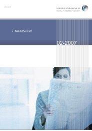 Marktbericht Februar 2007 - Aluminium Recycling