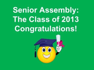 Senior Assembly