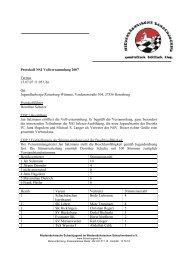 Protokoll der Vollversammlung vom 15.07.07 - Niedersächsische ...