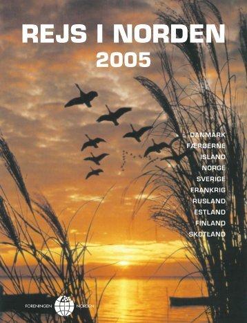 Klik her for at åbne Rejsemagasinet 2005 som PDF-fil. - Foreningen ...