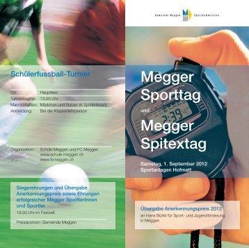 Megger Sporttag Megger Spitextag - Gemeinde Meggen