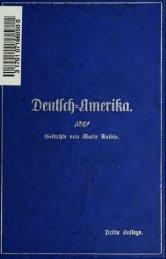 Deutsch-Amerika : Gedichte