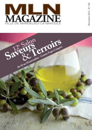 MLN Magazine de novembre 2012 - Mandelieu La Napoule